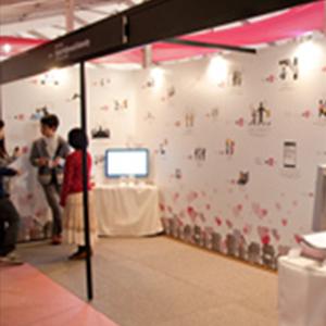 TOKYO DESIGNERS WEEKにて『+愛〜思いやりの公式〜』の展示を行いました