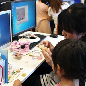 【開催レポート】第2回親子向けワークショップ シルバニアファミリーのアニメーションを作ろう!!~春が来た!みんなでおしゃれしてお出かけしよう!~