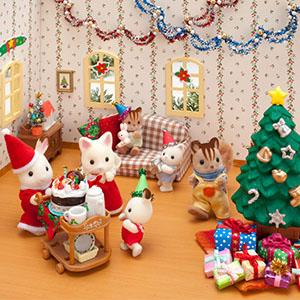 親子向けワークショップ第3回ストップモーション講座シルバニアファミリーのアニメーションを作ろう!!~シルバニアファミリー30年のクリスマス~