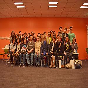 シンガポール・ポリテクニック学生来校  2週間のアニメプログラムを受講
