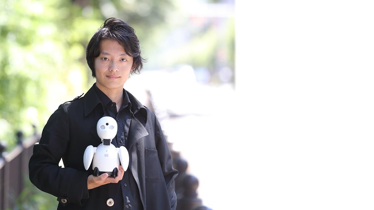 分身ロボットOriHime ロボットと人ではなく、人と人をつなぐロボット
