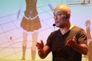 アニメデジタル化の先駆者 竹内考次氏特別講演 「これからの『アニメ』と『人材』」