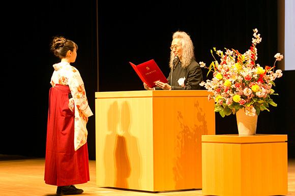 デジタルハリウッド大学2014年度学位授与式