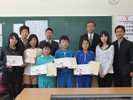 藤巻ゼミによる東日本大震災復興支援活動「復興支援~ミラクルノートプロジェクト」