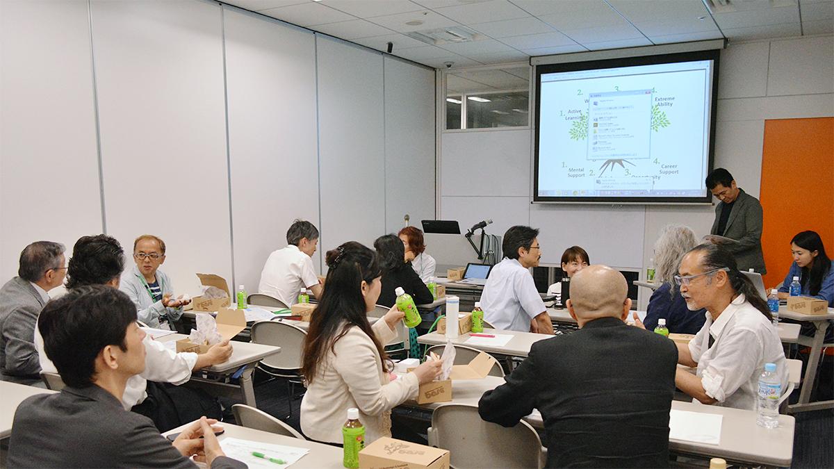2015年度第1回教員研修を開催